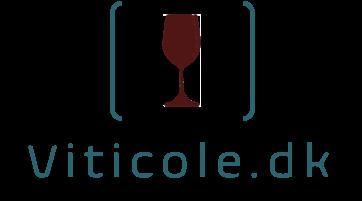 Viticole logo tekst uden baggrund mørkrødt glas